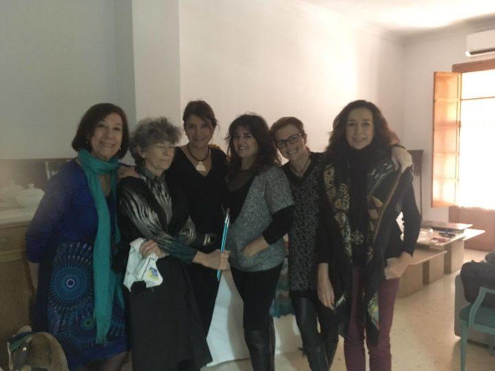 Finaliza el Taller de Pintura de Ana Márquez
