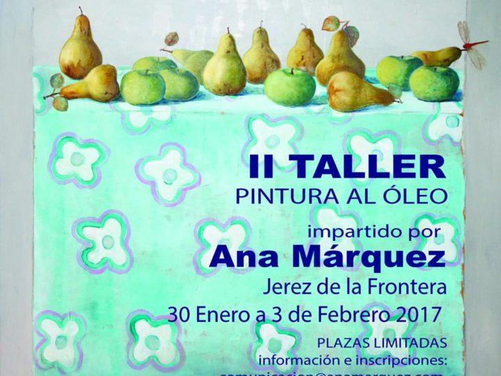 Nuevo taller de Ana Márquez en Jeréz