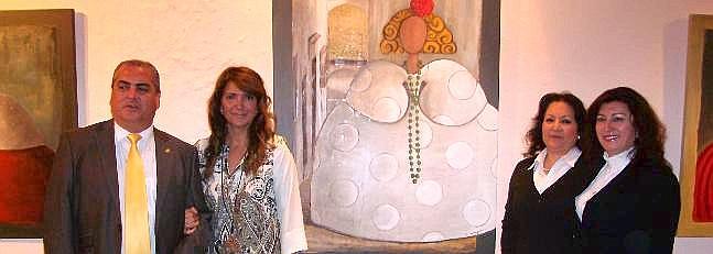 Arcos acoge la exposición 'Mestizaje' de meninas